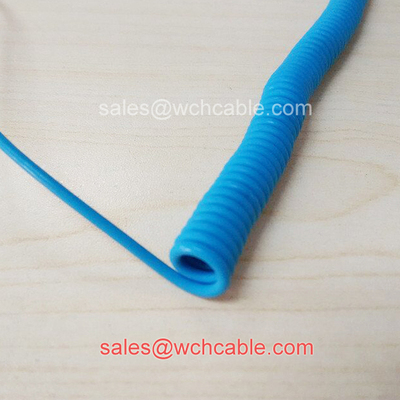 China Water Proof Retractable Curly Cord