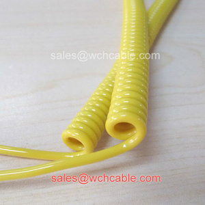 Arduous Condition Compatible Curly Cord