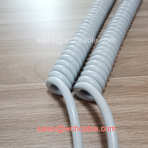 Gas and Oil Resistant Curly Cord
