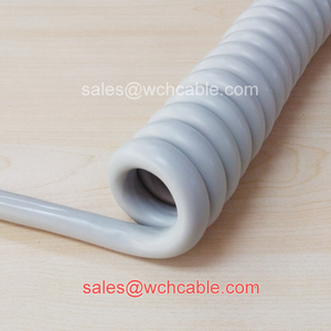 Robust Polyurethane Curly Cord